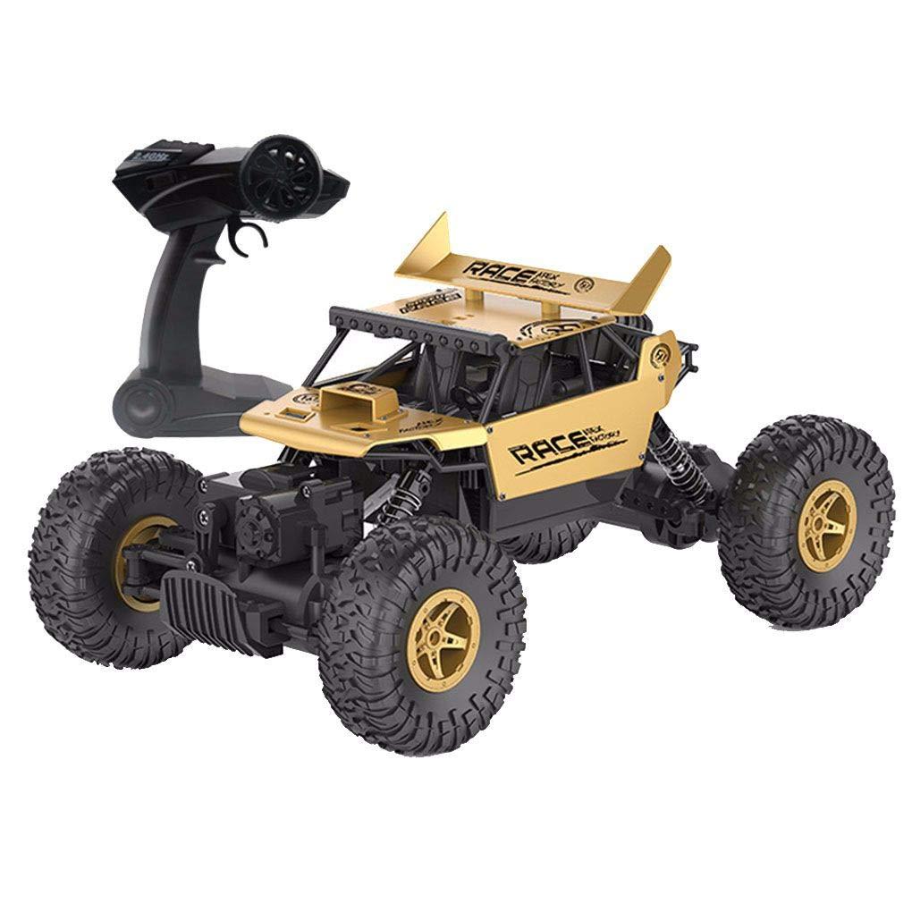 F-blu Remote 2.4GHZ RC Auto 01 18 4 Ruote motrici Rock Crawler Rally Car Bigfoot Auto Fuoristrada Giocattoli
