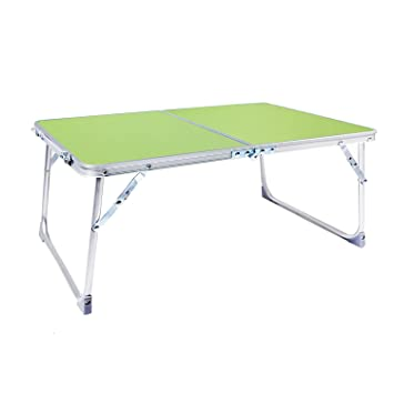 Con cama bandeja, bandeja de mesa plegable para ordenador portátil, portátil mesa de camping