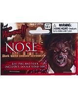 Adult Latex Werewolf Wolfman Nose Costume Prosthetic