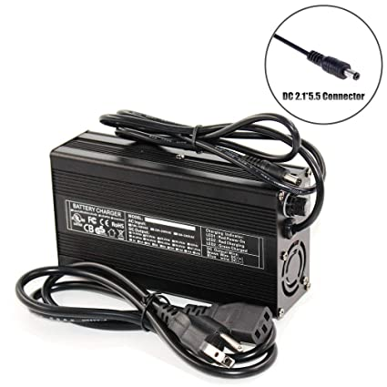 50.4V 2A Lithium Battery Charger for 12S 44.4V Li-ion Lipo Battery Power Tool