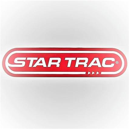 Star Trac bicicleta N cinta Decal Set de dos rojo y blanco 9 3/4 ...