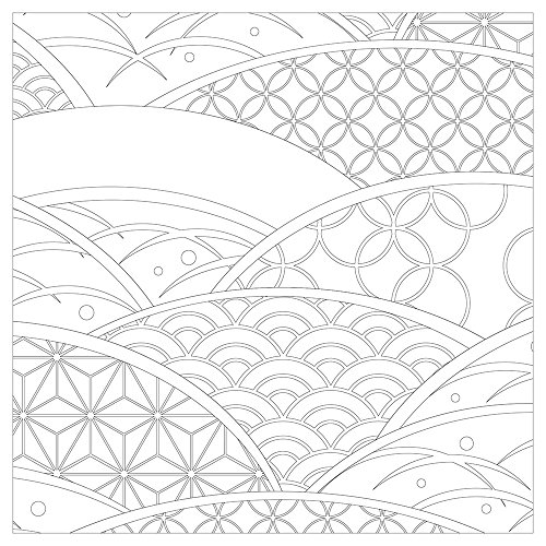 Vive Le Color Japan Adult Coloring Book