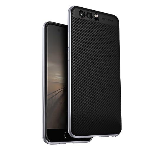 2 opinioni per VIFLYKOO Huawei P10 Custodia, Huawei P10 Cover Ultra Sottile Peso Leggero Huawei