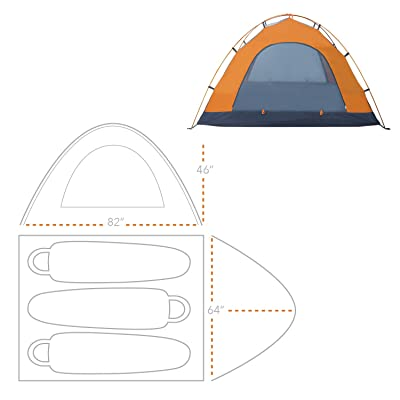 Winterial Camping Tent
