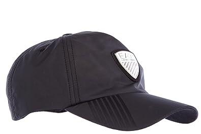 65cdac425da Emporio Armani EA7 adjustable men s hat baseball cap soccer black UK size M  275365 5A697 00020