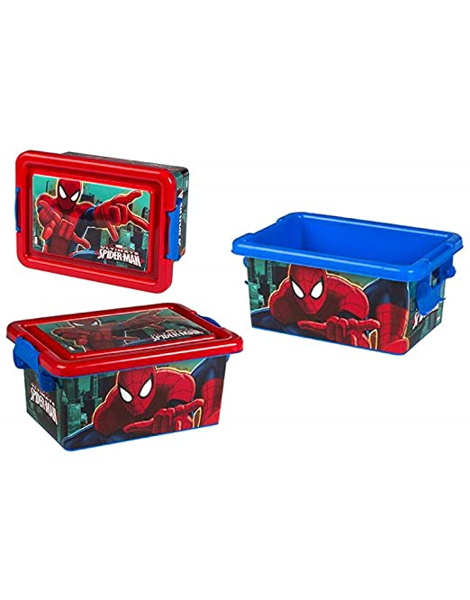 Hogar y Mas Caja Ordenación Spiderman: Amazon.es: Hogar