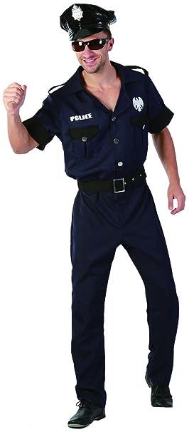 Rire Et Confetti - Ficpol005 - Déguisement pour Adulte - Costume Policier  New York Luxe - 8204abe2b9b
