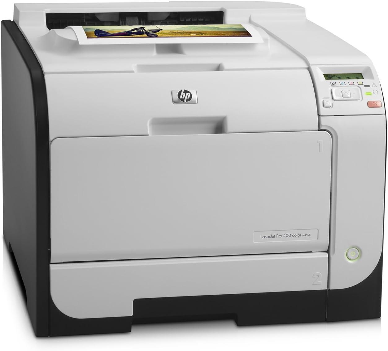 HP LaserJet Pro 400 m451dn Duplex Color Laser Printer