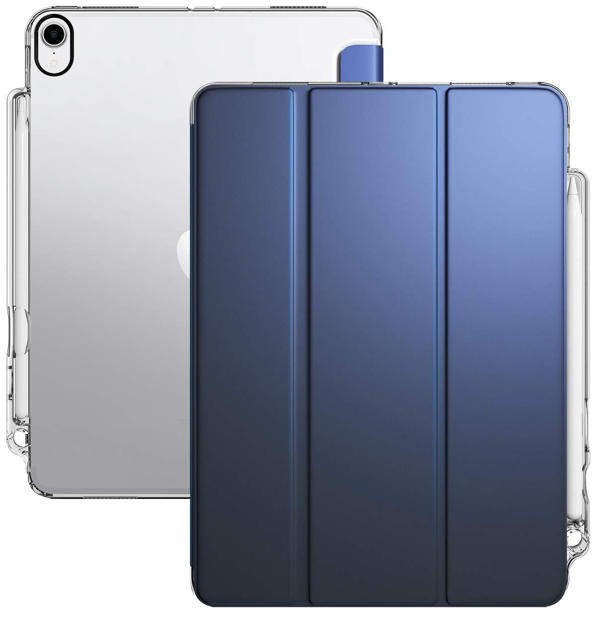 【即日発送】 Poetic Navy Lumos X Navy Apple iPad Pro 11用 2018年発売 LumosX-iPad-Pro-11-2018-Black iPad B07GNRPK2C Navy Blue/Clear Navy Blue/Clear, イナカダテムラ:ed00cd59 --- arianechie.dominiotemporario.com
