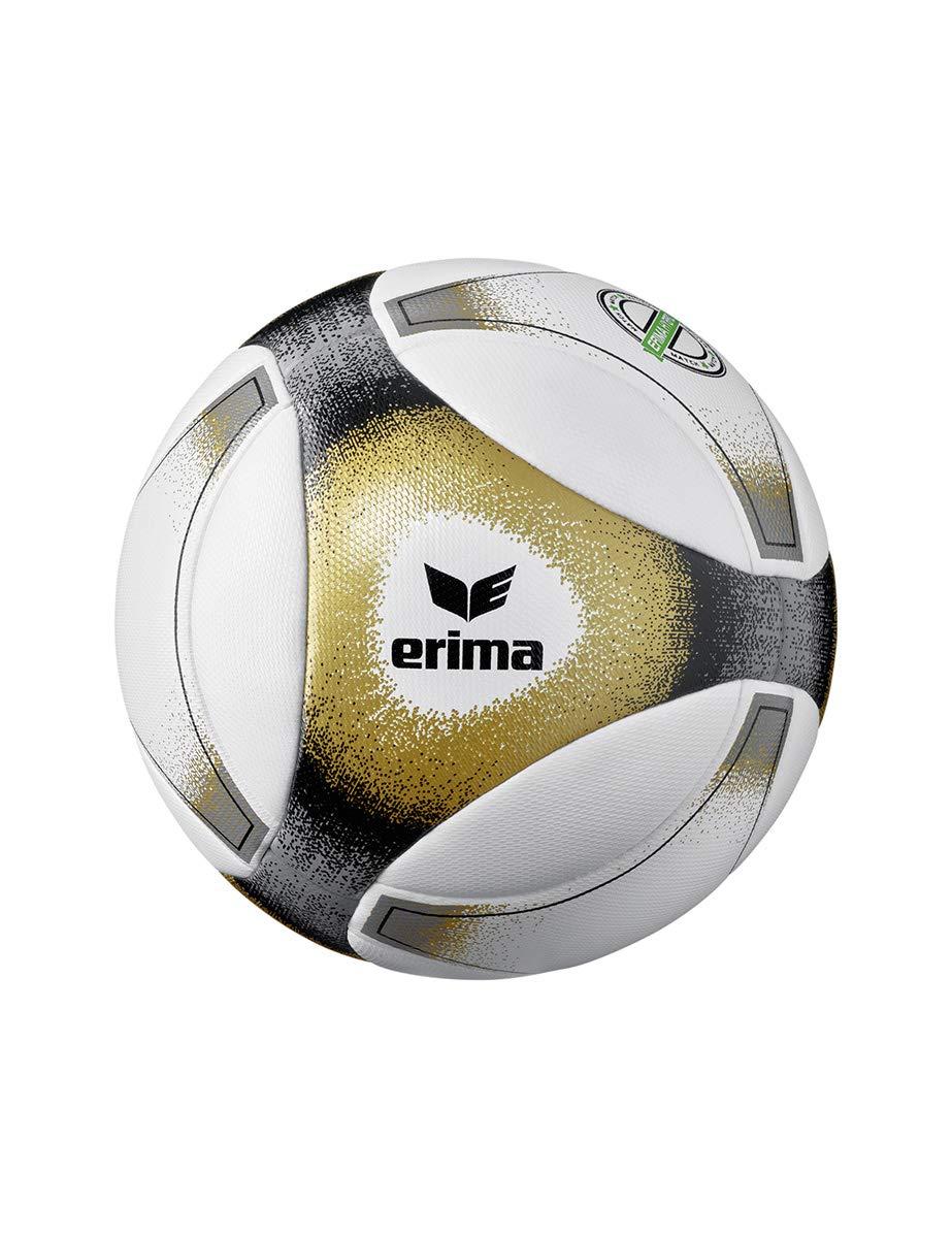 Erima Hybrid Match Paire de balles de Football Noir//dor/é