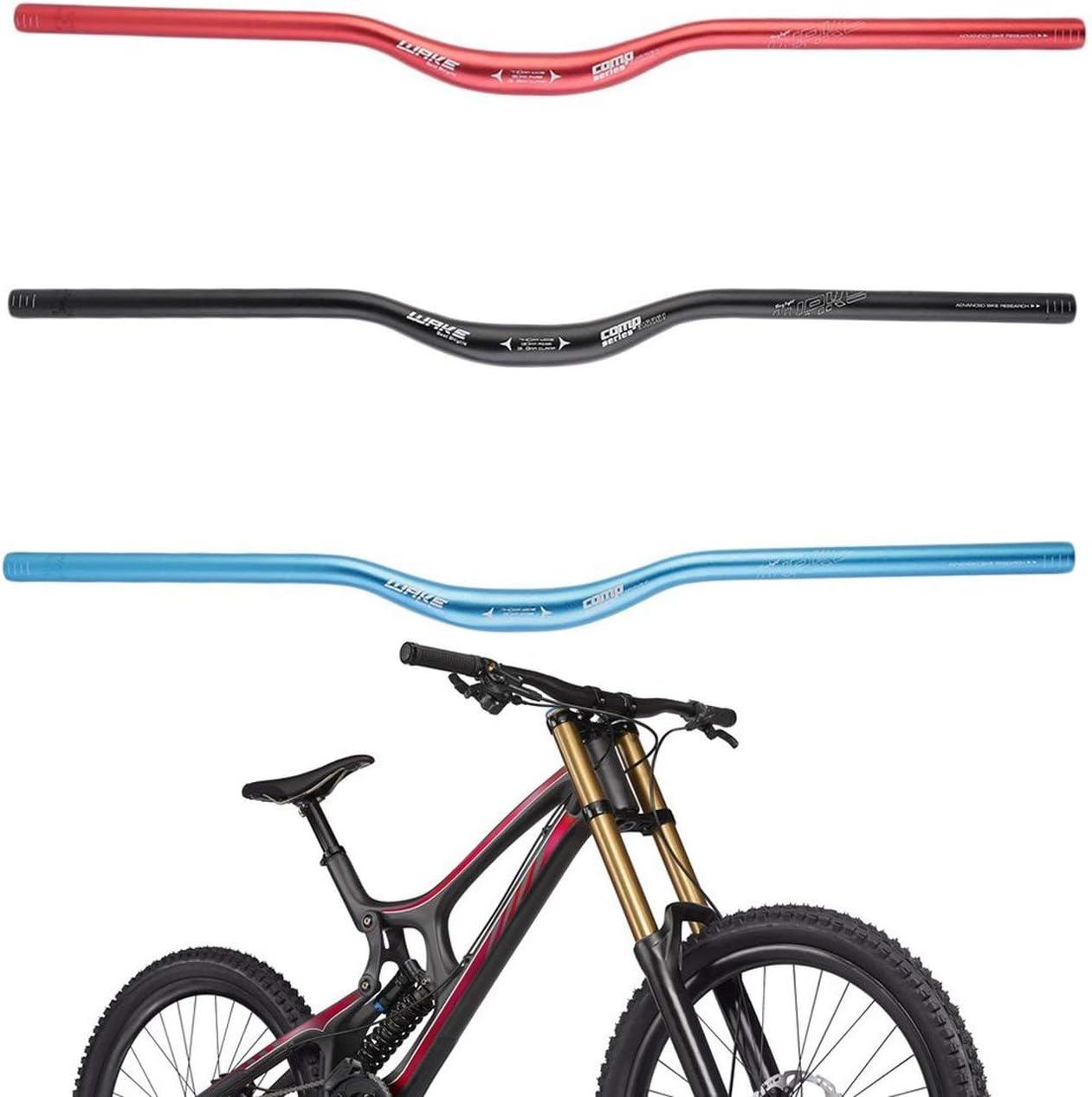 Ballylelly Monta/ña para Bicicleta de aleaci/ón de Aluminio de 30 mm 31,8 Abrazadera del Manillar Riser 740mm