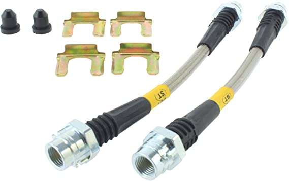 Brake Hydraulic Hose-Stainless Steel Brake Lines Front Stoptech 950.66001