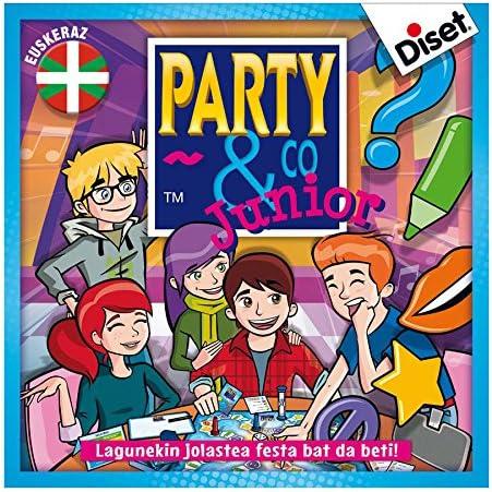 diset - Juego Party&Co Junior euskaraz: Amazon.es: Juguetes y juegos