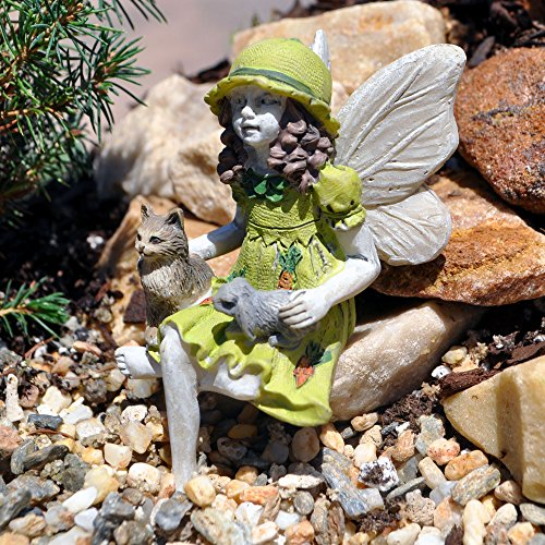 Miniature Garden Fairy Isabelle and Friends