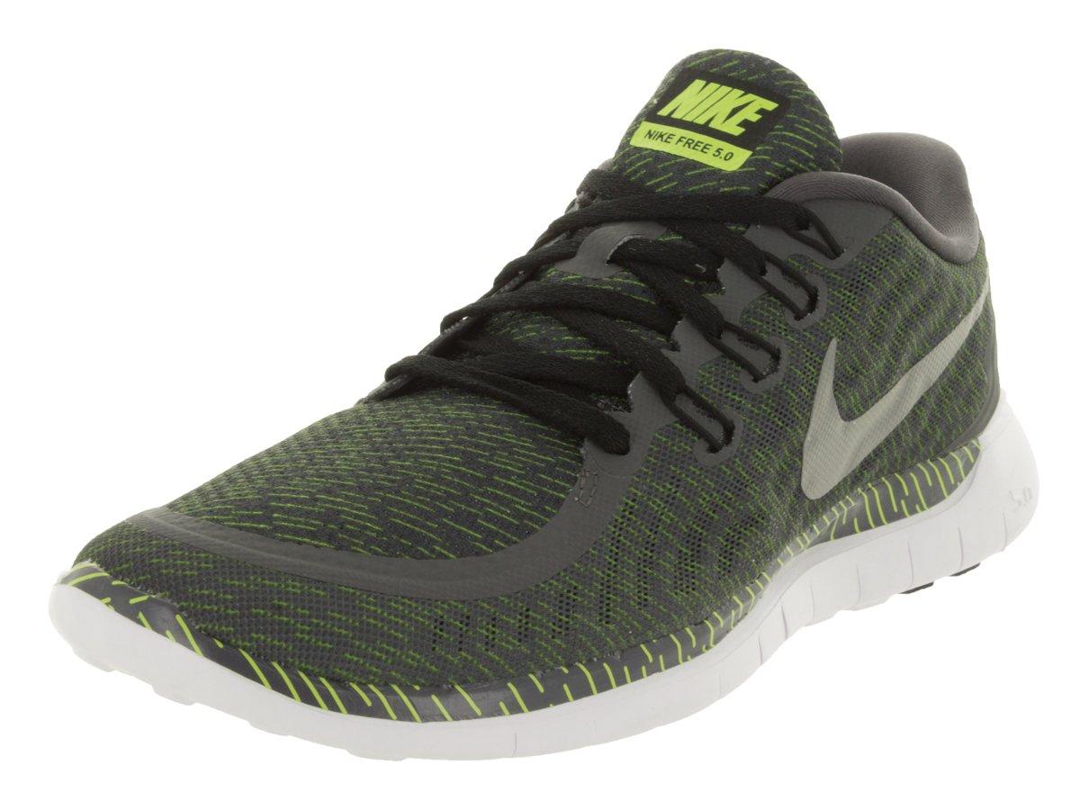 Nike Men's Free 5.0 Running Shoe B019EFXO7W 8 D(M) US Dark Grey/Rflct Silver/Vlt/Wht