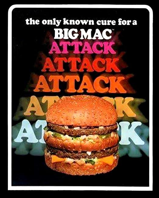 McDonalds Flat Thin Fridge Magnets 2009 Spelling McDonald/'s. Like new.