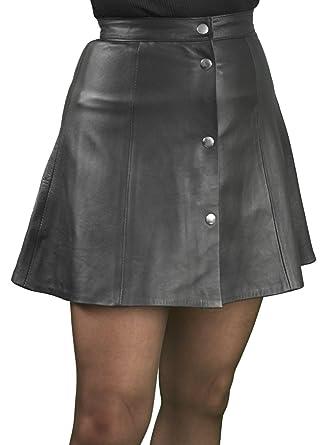 Black Leather Mini Skirt Uk