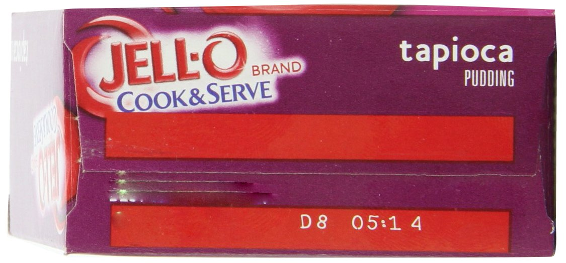 JELL-O Fat Free Tapioca Pudding & Pie Filling Mix (3 oz Boxes, Pack of 24) by Jell-O (Image #6)