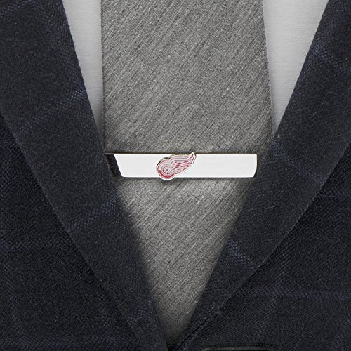 NHL Detroit Red Wings Tie Bar, Officially Licensed by Cufflinks (Image #1)