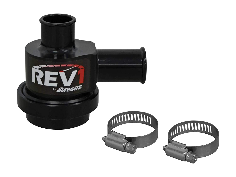 superatv Polaris RZR 1000 Turbo Charged Blow Off Válvula y libre Unhinged ATV sombrero. Paquete de 2 artículos: Amazon.es: Coche y moto