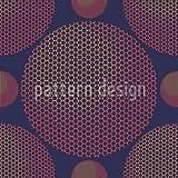 Hexagon Planetarium Shower Curtain: Large Waterproof Luxurious Bathroom Design Woven Fabric