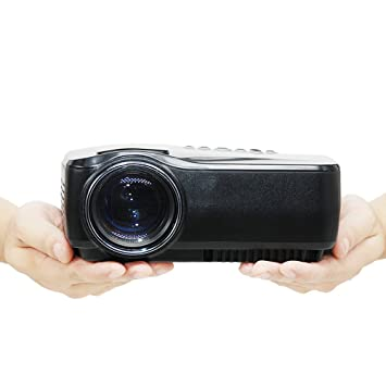 Proyector G4. Proyector LED de video de 1200 lúmenes, soporta una resolución 1080P con HDMI, El Proyector Cine En Casa, Proyector Digital LCD de ...
