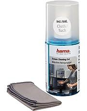 Hama LCD/Pantalla TFT Gel de limpieza incluido. Paño de limpieza
