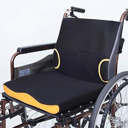 Cojín de asiento de silla de ruedas Reductor de presión, Cojín antiescaras, Ideal para