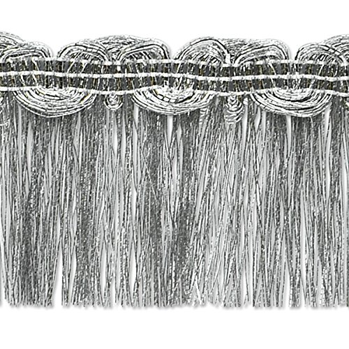 EXPO International Maeve Metallic Braid Fringe Trim Embel...