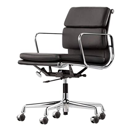 Amazon.com: Eames Aluminum Group Style Management Low Back ...