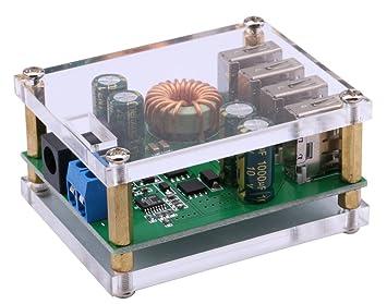 Amazon.com: Yeeco DC convertidor de voltaje transformador ...