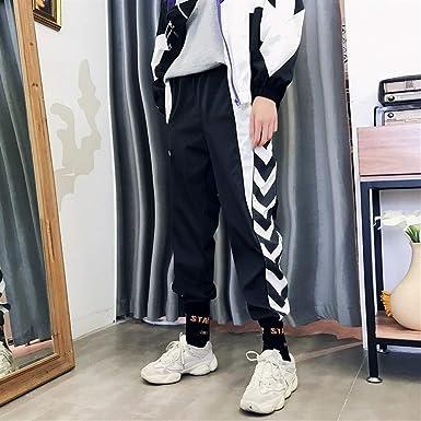 KUANGQIANWEI-trousers Pantalones de chándal para hombres Chic ...