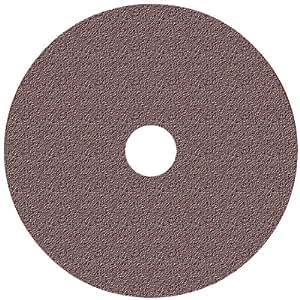 Norton 01911 24 Grit Aluminum Oxide Fibre Sanding Discs, 5-Inch x 7/8-Inch