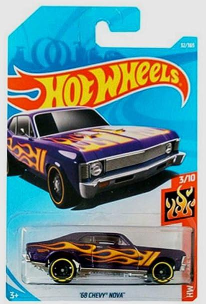 Amazon Com Hot Wheels 2018 50th Anniversary Hw Flames 68 Chevy