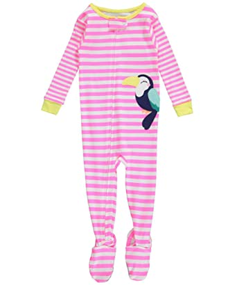Amazon.com: Carter's Baby Girls 1-Piece Pajamas Footed Snug Fit ...