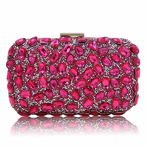 sac Red de new sac golden soirée sac le diamond Rose sac à est l'épaule lady RffUgEnx