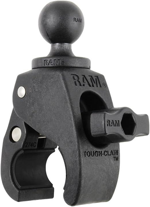 Ram Mounts Rap B 400u Tough Claw Klein Mit 2 54 Cm Durchmesser Gummiball Auto