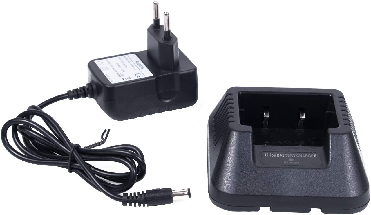 Mengshen Baofeng Cargador BF-888S Desktop Charger for BF 888S 777S 666S Two Way Radio BF-888S/_C5