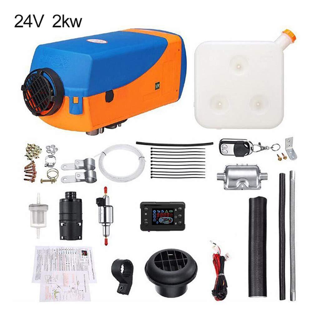 chauffage rapide avec t/él/écommande appareil int/égr/é pour camping-car camion 12 V//24 V SZfree Kit de chauffage de stationnement pour voiture bus 2 kW