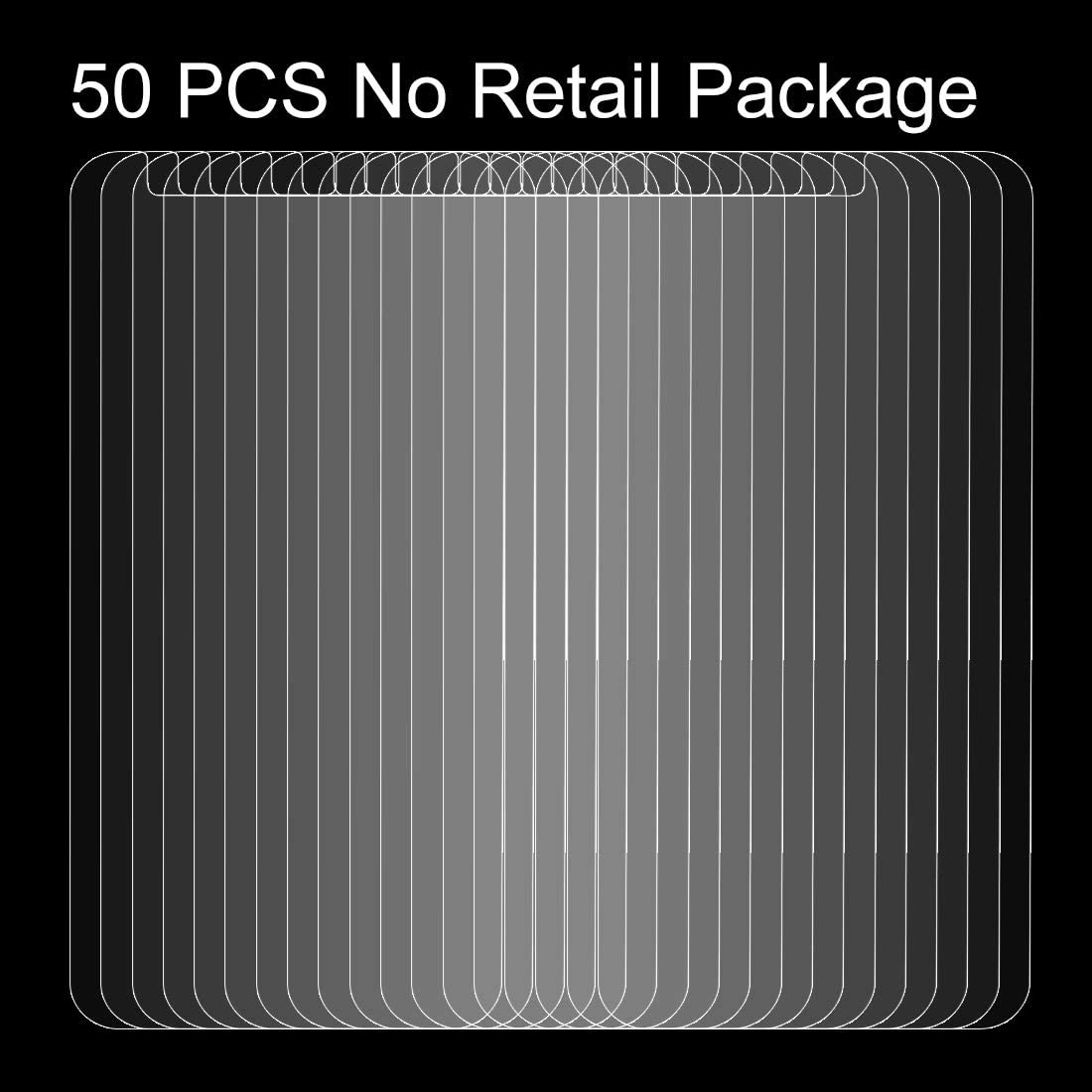 No Retail Package Clear 50 PCS for LG K10 YINZHI Screen Protector Film 2017 0.26mm 9H Surface Hardness Explosion-Proof Non-Full Screen Tempered Glass Screen Film