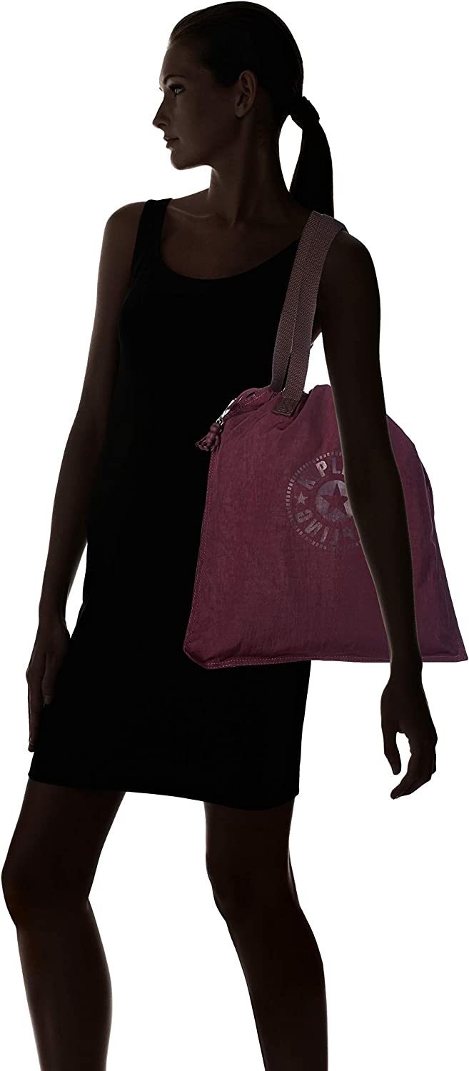 Kipling New Hiphurray, Cabas Violet (Dark Plum)