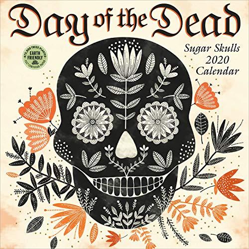 Day of the Dead 2020 Wall Calendar: Sugar Skulls ()