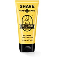 Bee Bald Shave Premium Shave Cream (6 Fl. Oz.)