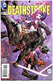 #1: DEATHSTROKE #5, NM, Harley Quinn, 2014, New 52, Variant, Batman,more HQ in store