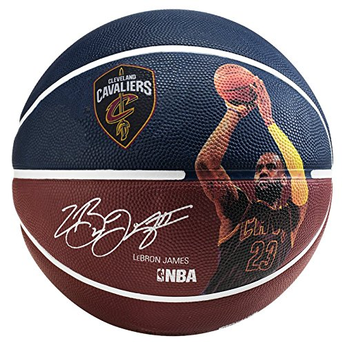 Spalding NBA PLAYER LEBRON JAMES SZ.7 (83-34 fire rot