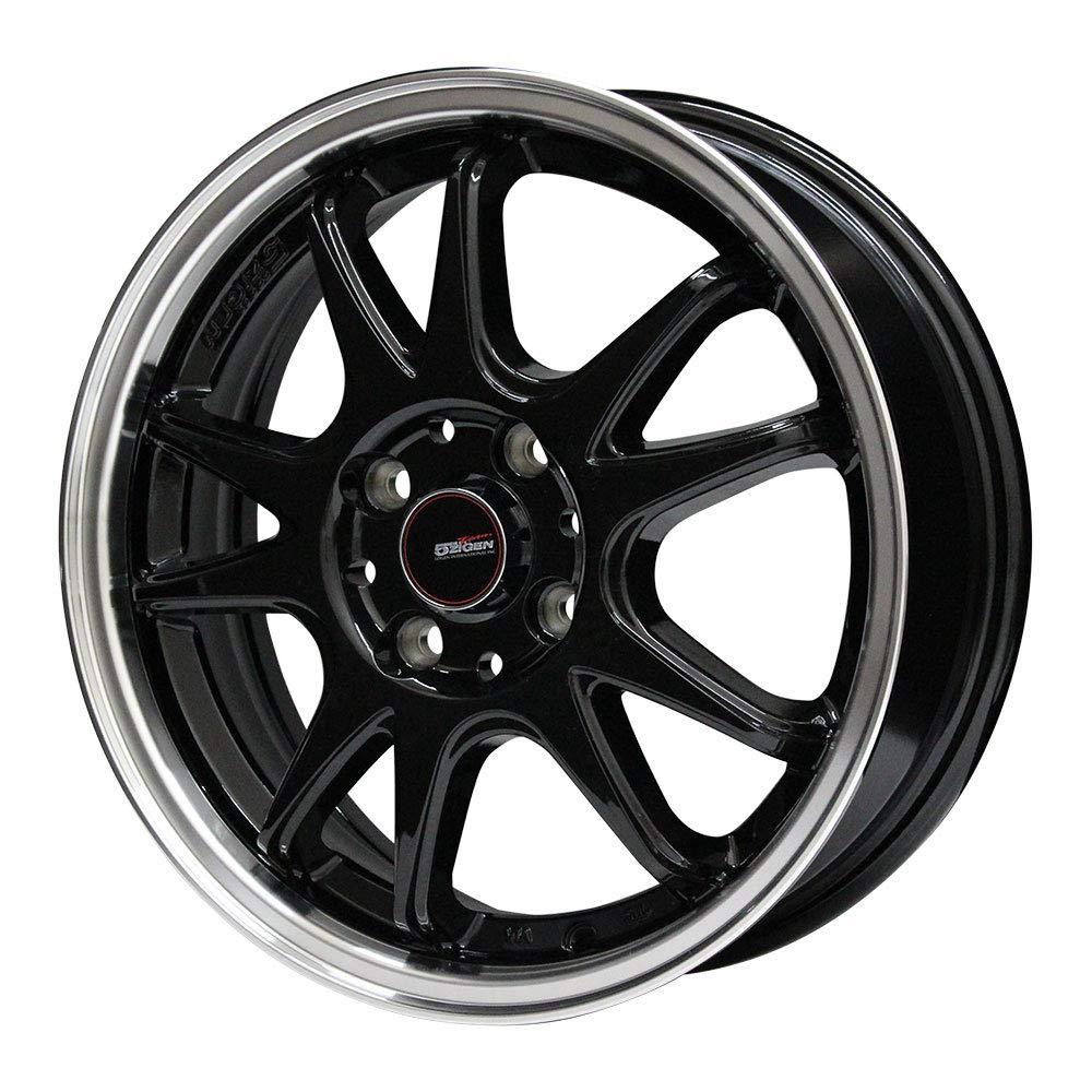 MOMO Tires(モモタイヤ) サマータイヤ&ホイール OUTRUN M-1 155/65R14 5ZIGEN(ゴジゲン) 14インチ 4本セット B07L7LPFWM