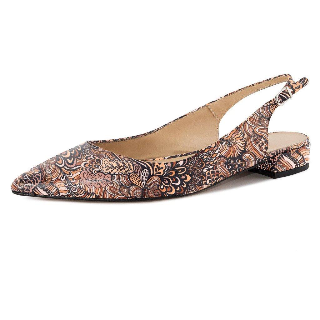 f33ef2d2c92 Eldof Eldof Eldof Women Low Heels Pumps