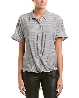 75a6bc048227 BCBGeneration Women s Wrap Hem Dolman Sleeve Shirt at Amazon Women s ...