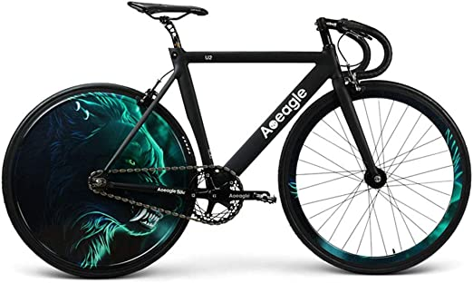 Huoduoduo Bicicleta, Bicicleta De Carretera, Luz LED Hyun Cool ...