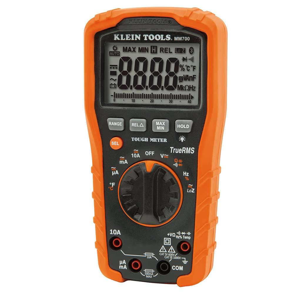 Digital Multimeter TRMS/Low Impedance, Auto-Ranging 1000V Klein Tools MM700